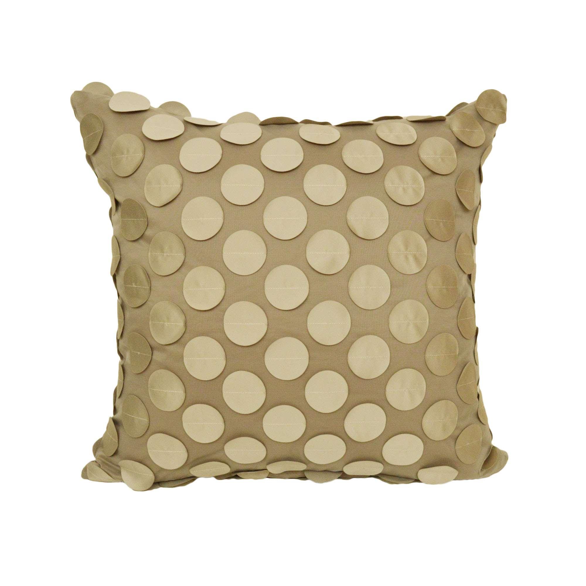 Federa cuscino arredo con applicazioni tina codazzo home for Misure cuscino carrozzina