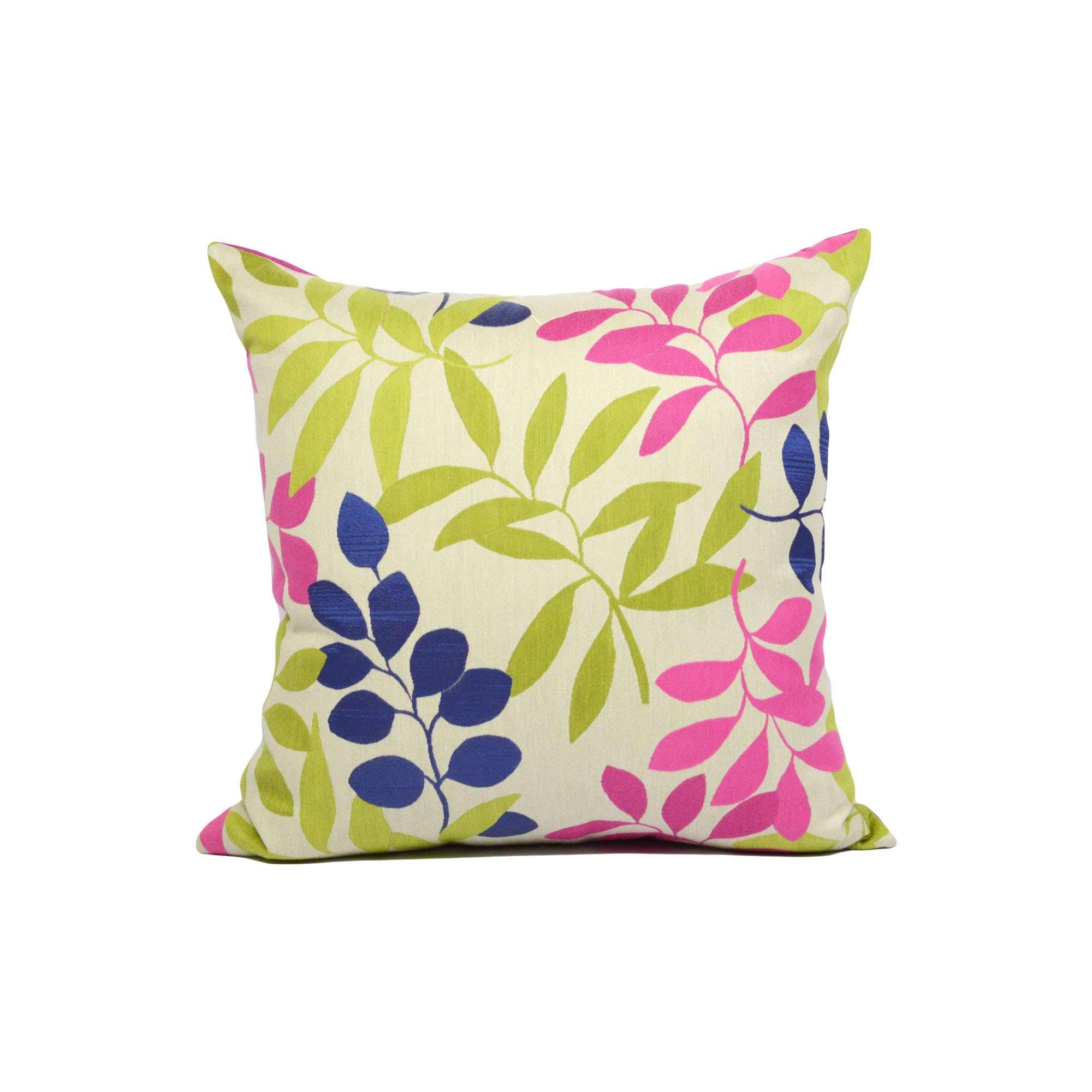 Federa cuscino foglie colorate tina codazzo home for Misure cuscino carrozzina
