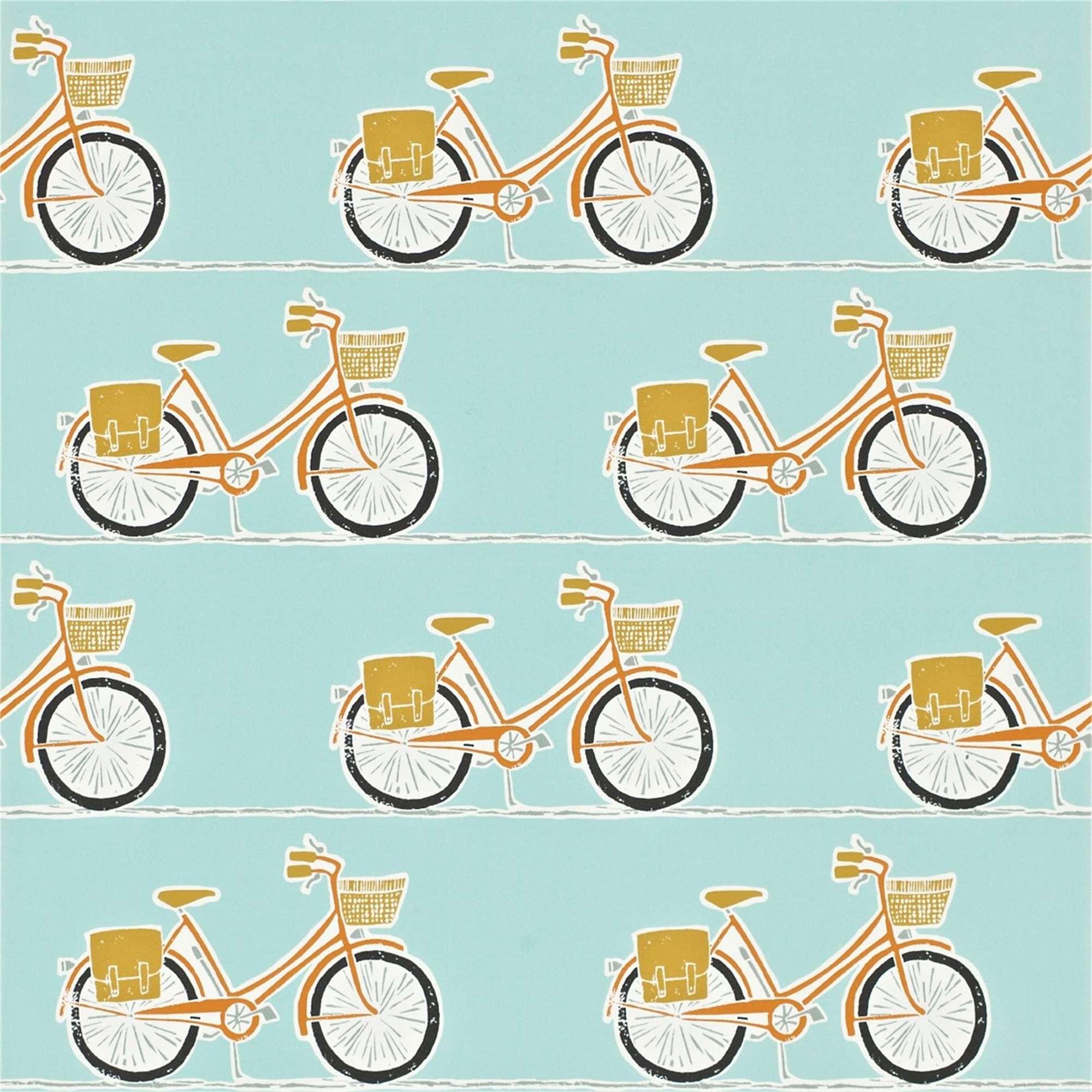 Rotolo carta da parati biciclette tina codazzo home for Rotolo carta parati