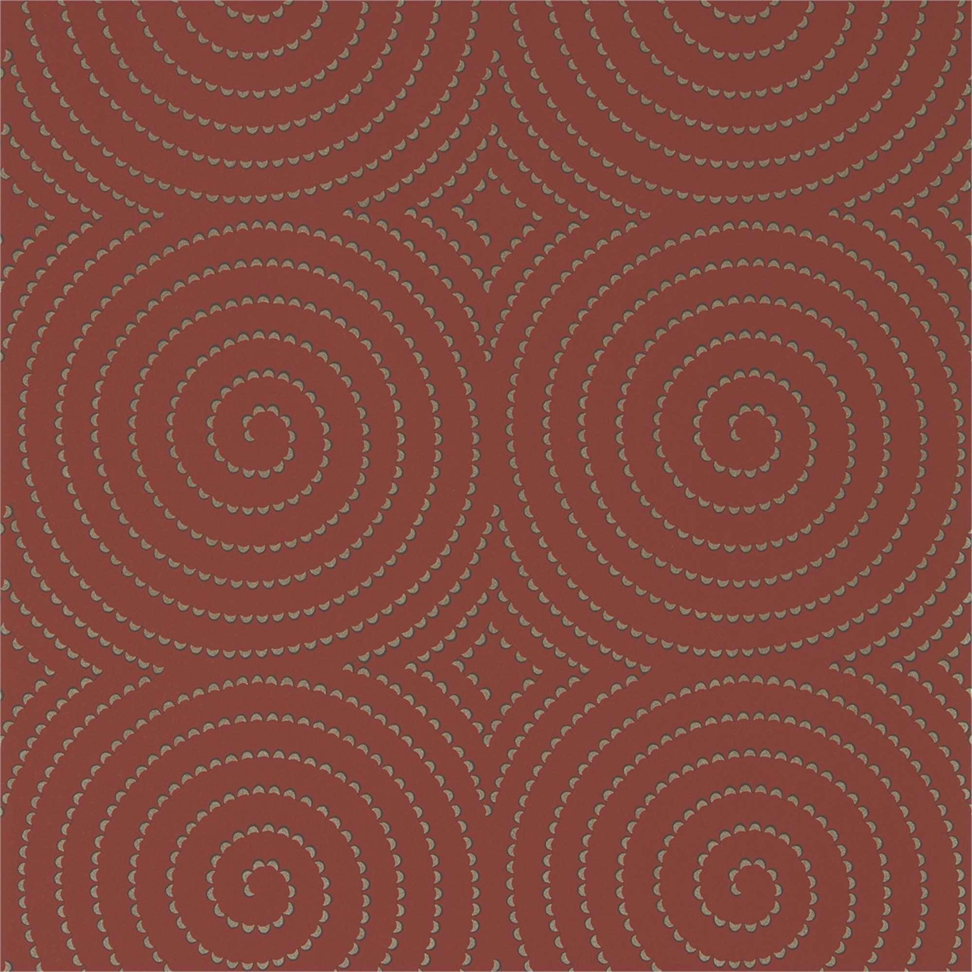 Rotolo carta da parati spirali scintillanti tina codazzo for Rotolo carta parati