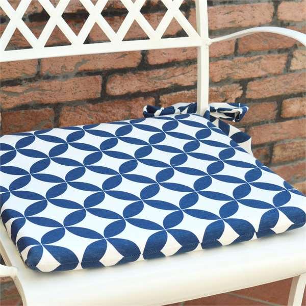 Cuscini per sedie sala da pranzo tina codazzo home for Sedie blu cucina