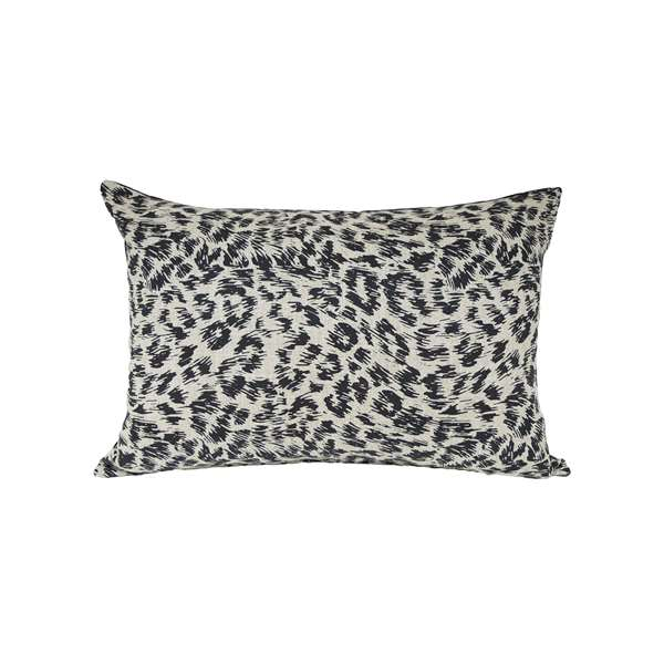 Cuscino design animalier lino
