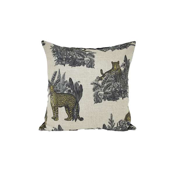 Cuscino design jungle tigri